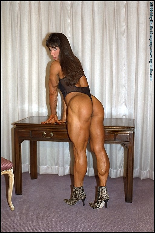 tazzie colomb is a pro fbb and have been  peting and working out for