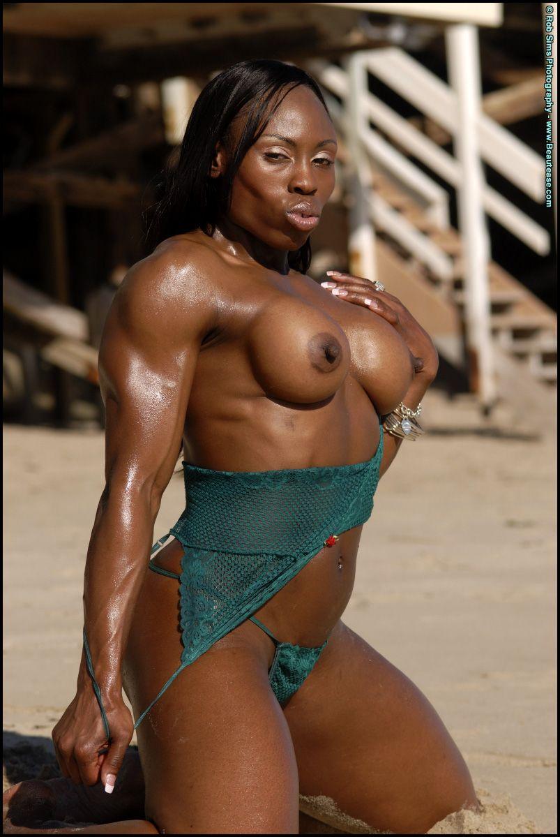 Ebony Body Builder Porn Pics