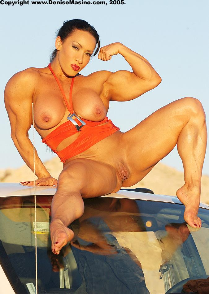 Pretty body builder fetish woman nees