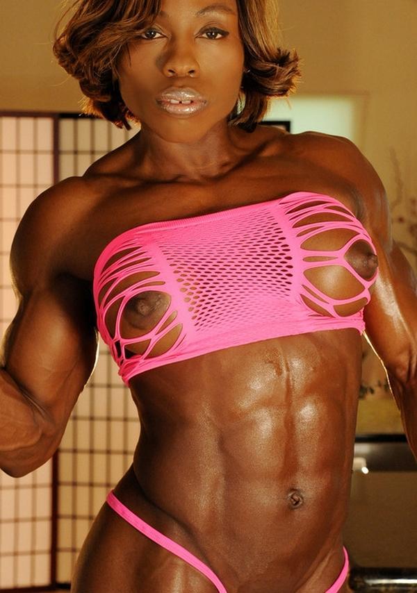 Body builder chick athena