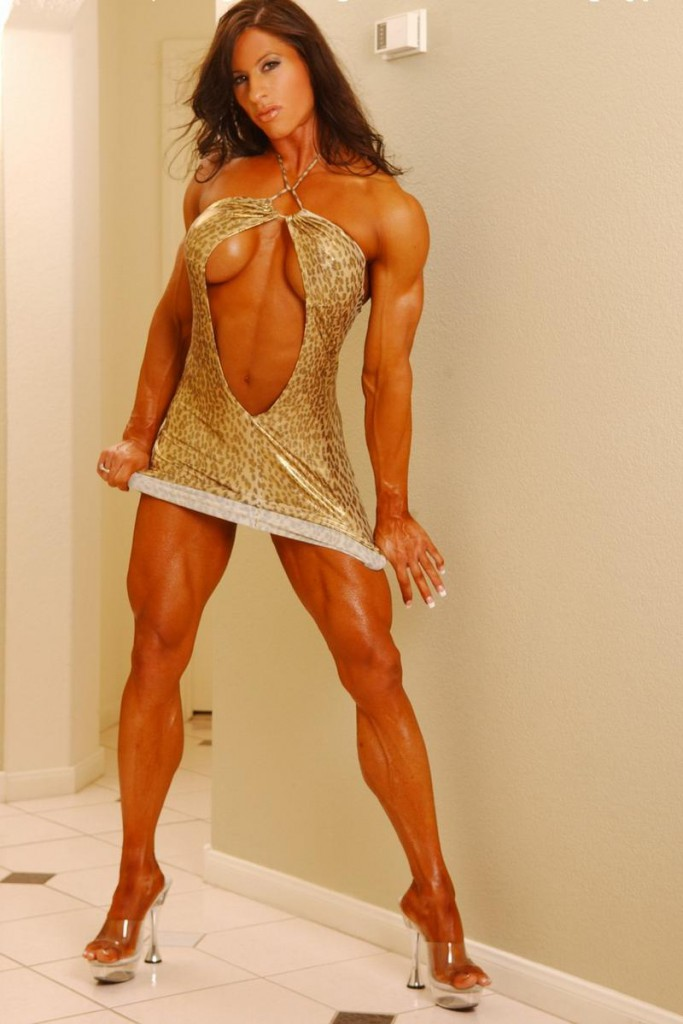 muscle chick angie naked