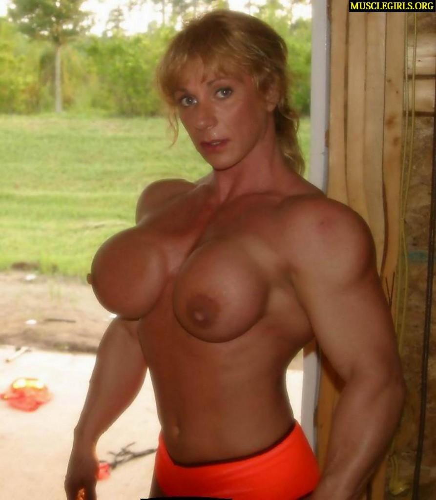 Body builder chick athena - 2 part 3