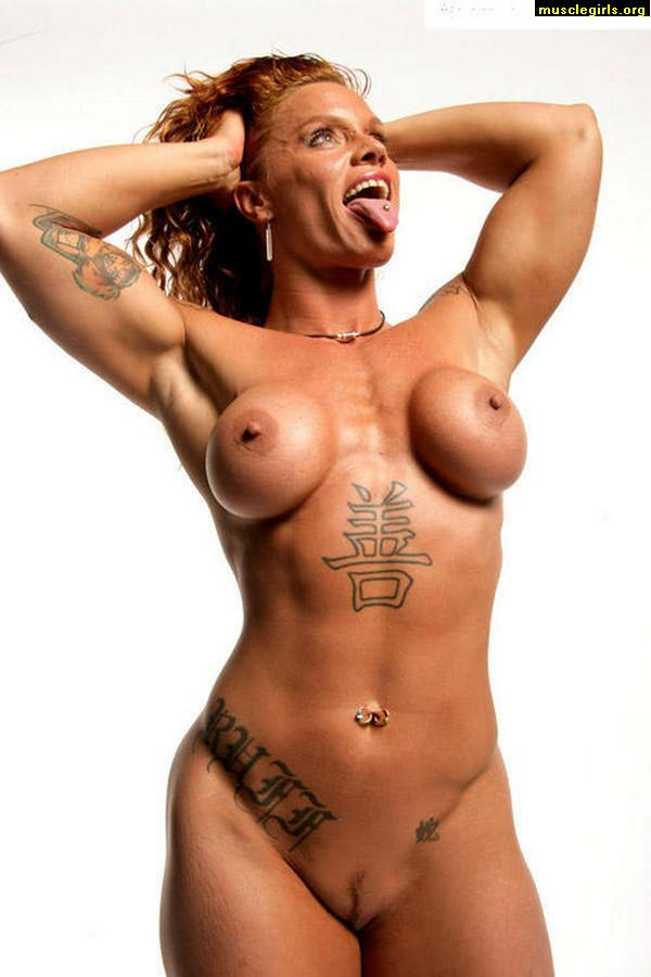 Nude female bodybuilder muscle girls