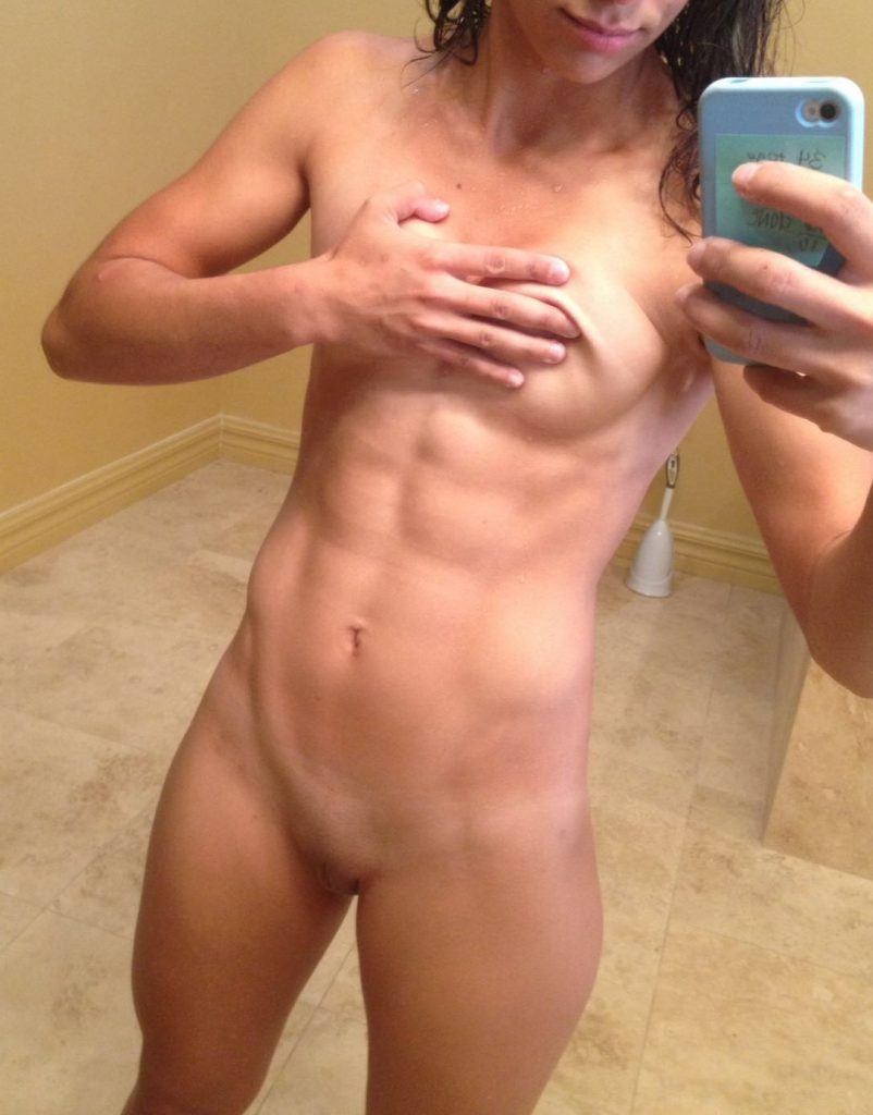 Nude abs fit girls with