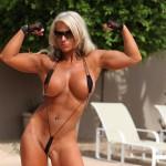 Megan Avalon in bikini