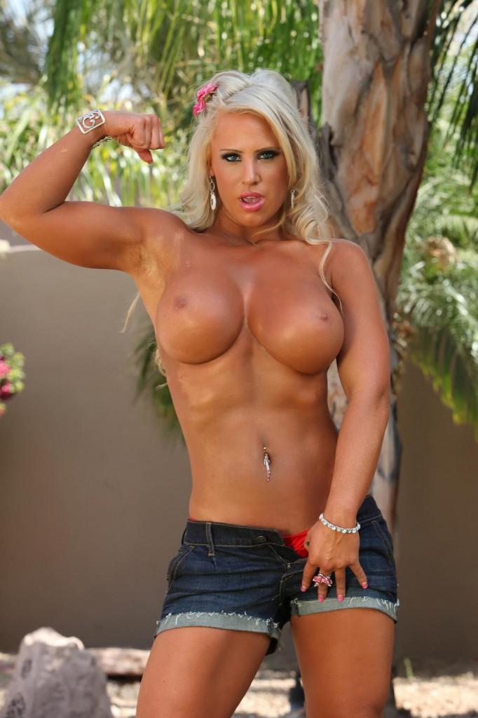 muscle girl wet pussy