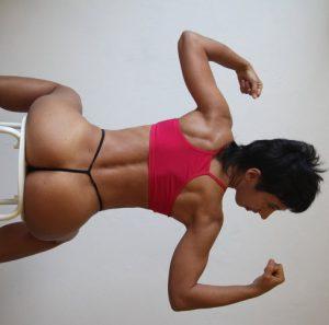 webcam muscle women