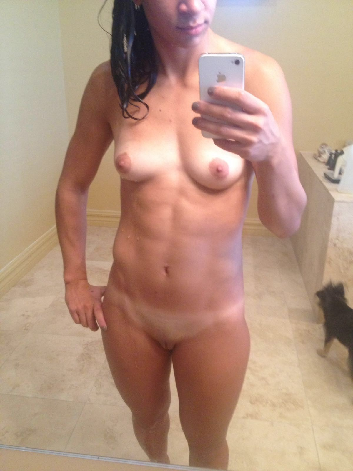 female abs naked