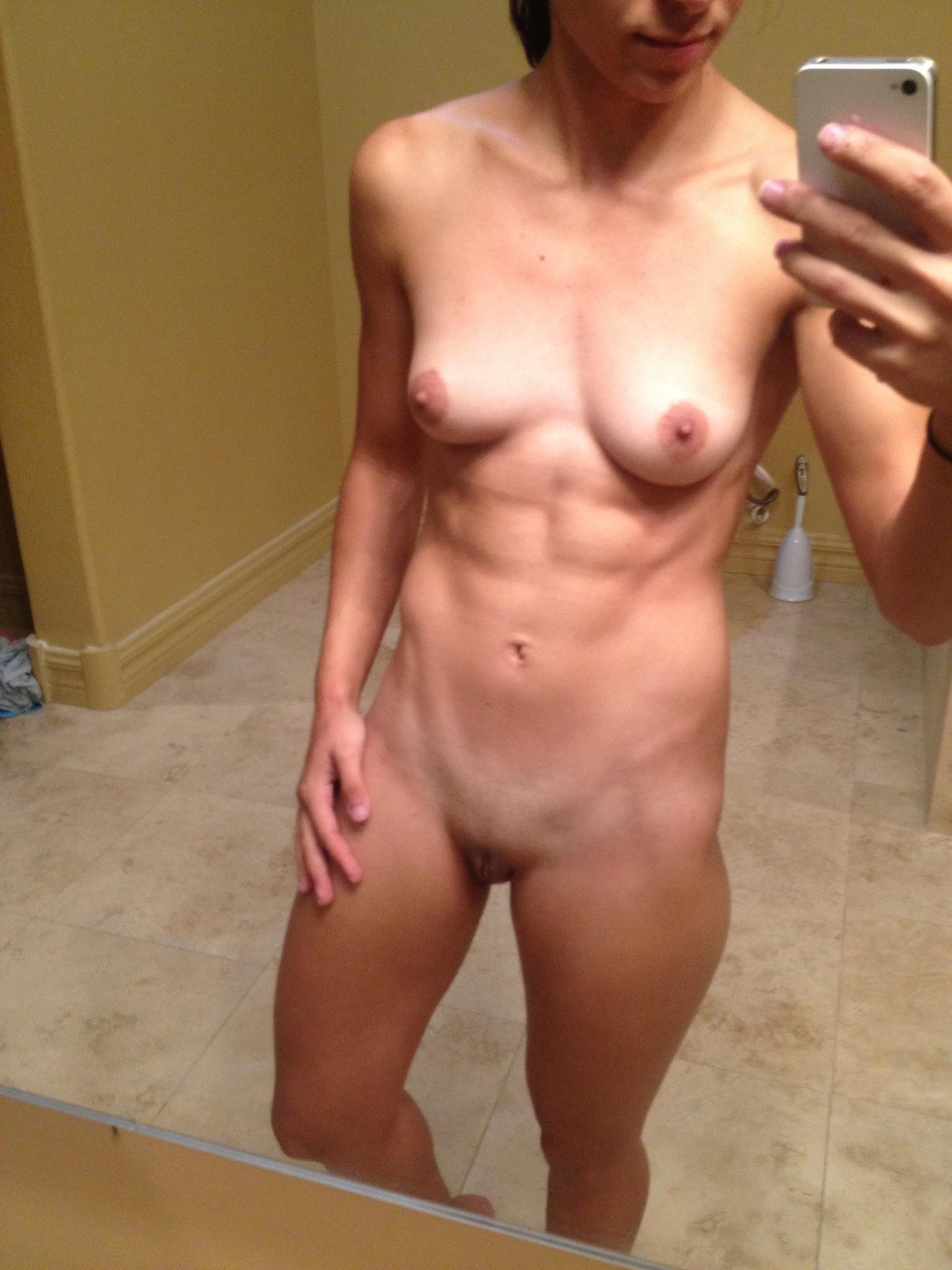 best female abs naked